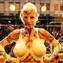 Als Zombie: Das frühere Supermodel Heidi Klum mit ihrem diesjährigen Halloween-Kostüm in New York.