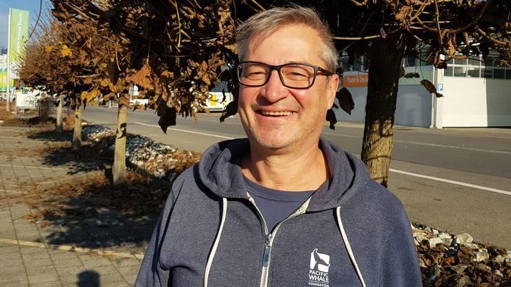 Walter Berli erhoffte sich einen Ausbau der Sportanlage Winkel in Rohr.