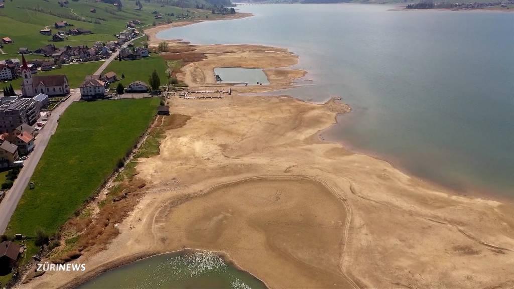 Gewässertiefstand und Feuerverbot: Dürre im April hinterlässt Spuren