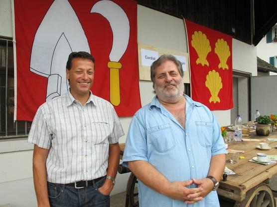 Peter Trombik (rechts), Unterengstringen