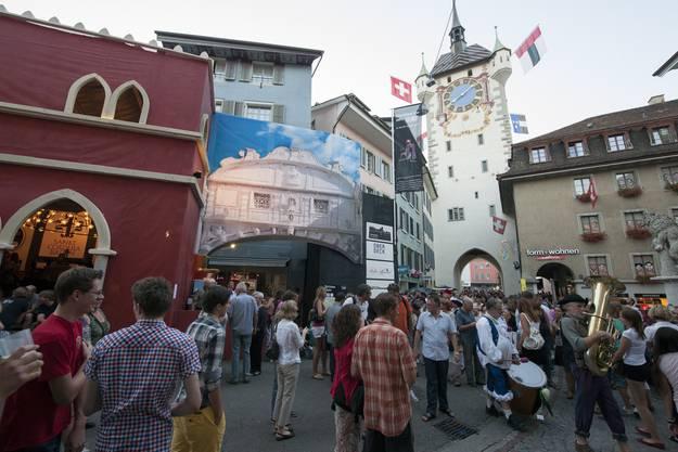 Impressionen von der Eröffnung des Stadtfests