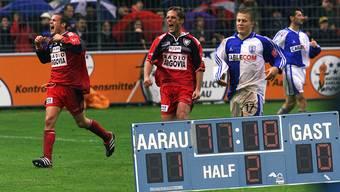 Zwischen Aarau und GC gab es schon einige legendäre Duelle.