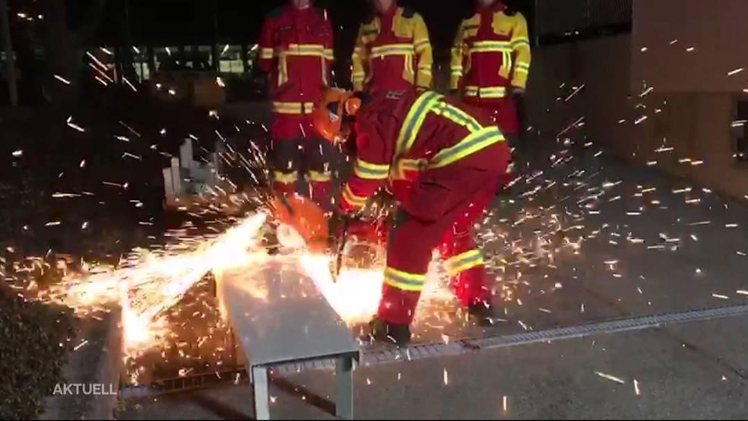 Anwohner ruft Polizei wegen Feuerwehrübung