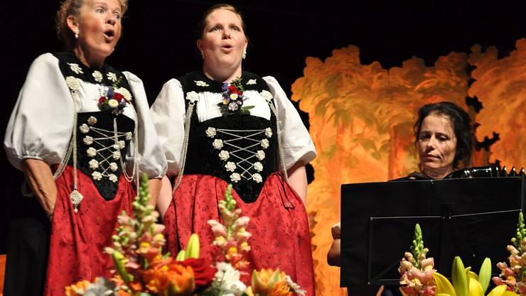 Ein Jodlerduett von Ruth Matter Riedi und Isabelle Vock