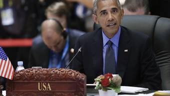 US-Präsident Barack Obama hat am ASEAN-Gipfel in Laos das Reizthema Südchinesisches Meer angesprochen.