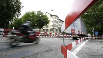 Seebahnstrasse:; Das innerstädtische Verkehrsregime nach der Eröffnung der Westumfahrung sorgt für Ärger.