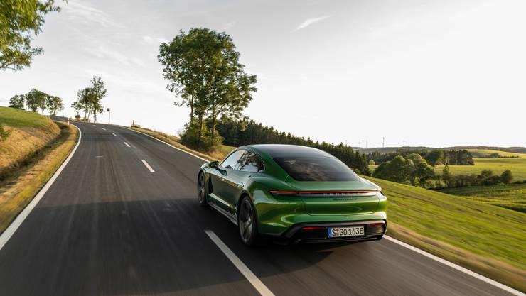 Klassische Porsche-Formensprache am Heck. Bild: zvg