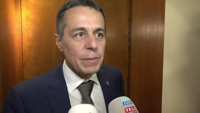 Das sagt Ignazio Cassis zu seiner Nomination
