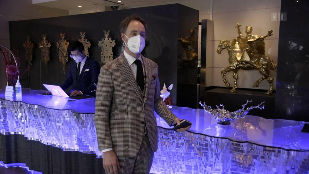 Schweizer Hotelier in Peking: «Alles wurde annulliert»
