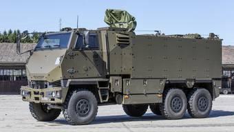Ein ausländischer Konzern wird fortan Wartungsarbeiten an den 2220 Armeelastwagen Duro ausführen.