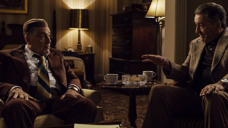"""Das Netflix-Epos """"The Irishman"""" ist 14 Mal bei den Kritikerpreisen nominiert worden. (Archivbild Filmszene)"""