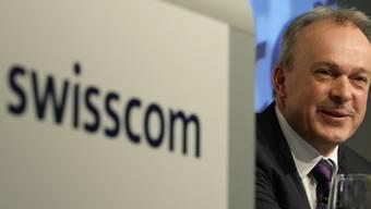 Die Swisscom spannt mit der SRG und Ringier zusammen. Im Bild: Swisscom-Chef Urs Schaeppi. (Archivbild)