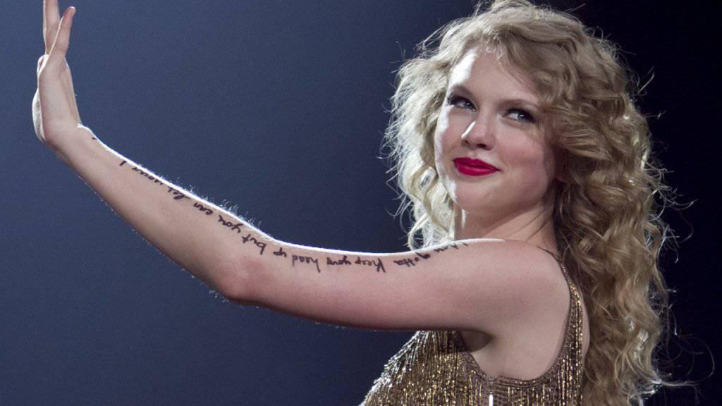 Bezichtigt einen Radiomoderatoren der Grabscherei: die amerkainische Sängerin Taylor Swift. (Archivbild)