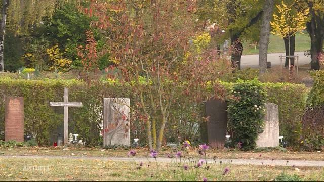 Urnen-Klau auf Bieler Friedhof