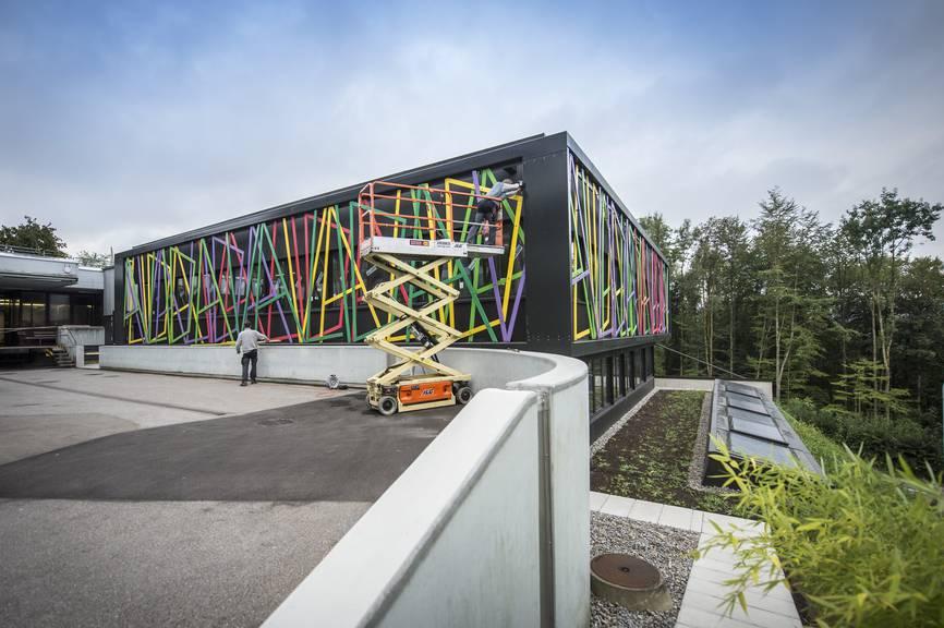 Im Herbst 2016 hat die Valida einen Neubau für zehn Millionen Franken an der Zwyssigstrasse in St.Gallen in Betrieb genommen.