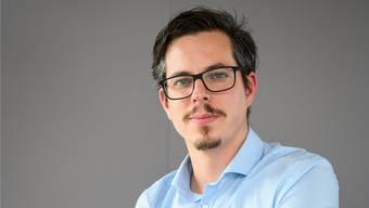 Lukas Wopmann steigt ins Rennen um den BDP-Nationalratssitz. Alex Spichale