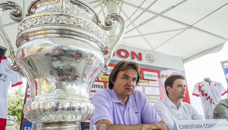 Cupsieger 2015 - Genugtuung für Präsident Constantin.