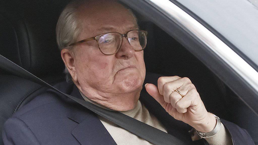 Jean-Marie le Pen wehrt sich mit juristischen Mittel dagegen, aus der von ihm gegründeten Partei ausgeschlossen zu werden - bisher erfolglos. (Archivbild)