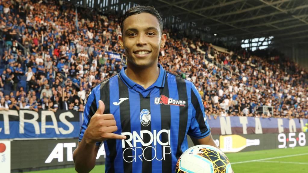Luis Muriel schoss drei Tore für Atalanta Bergamo.