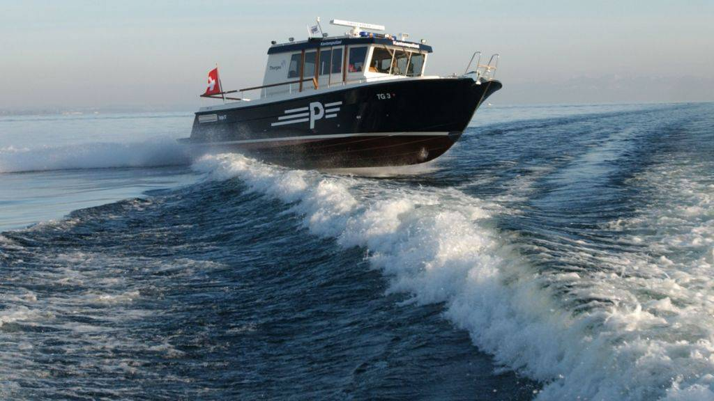 Drei Männer mit entwendetem Boot vor Berlingen gekentert