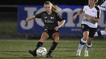 Sina Reinschmidt will mit den FC Aarau Frauen in Thun auf Punktejagd.