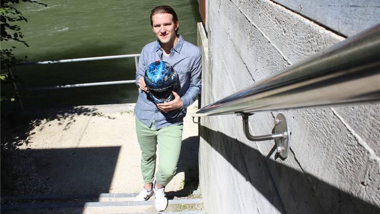 «In der stärksten Liga der Welt zu spielen, war schon immer mein Traum», sagt der 23-jährige Jonas Wittwer.