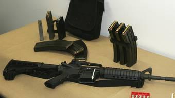 Ein Bushmaster-Sturmgewehr (Symbolbild)
