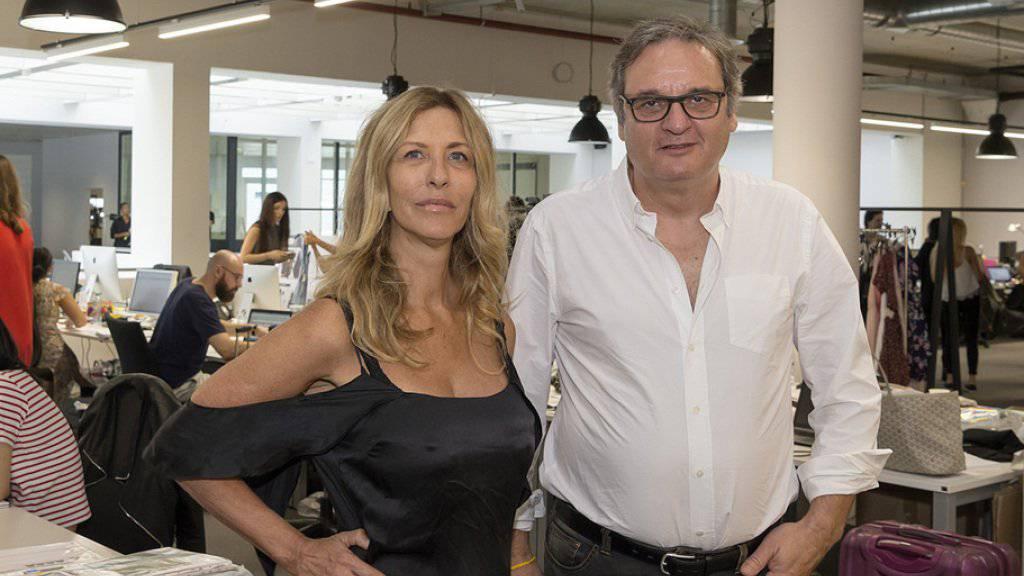 Tally Elfassi-Weijl und Beat Grüring, die Gründer des Textilunternehmens Tally Weijl. (Archiv)