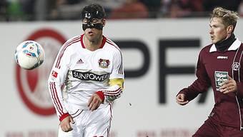 Michael Ballack erzielte für Leverkusen das 1:0