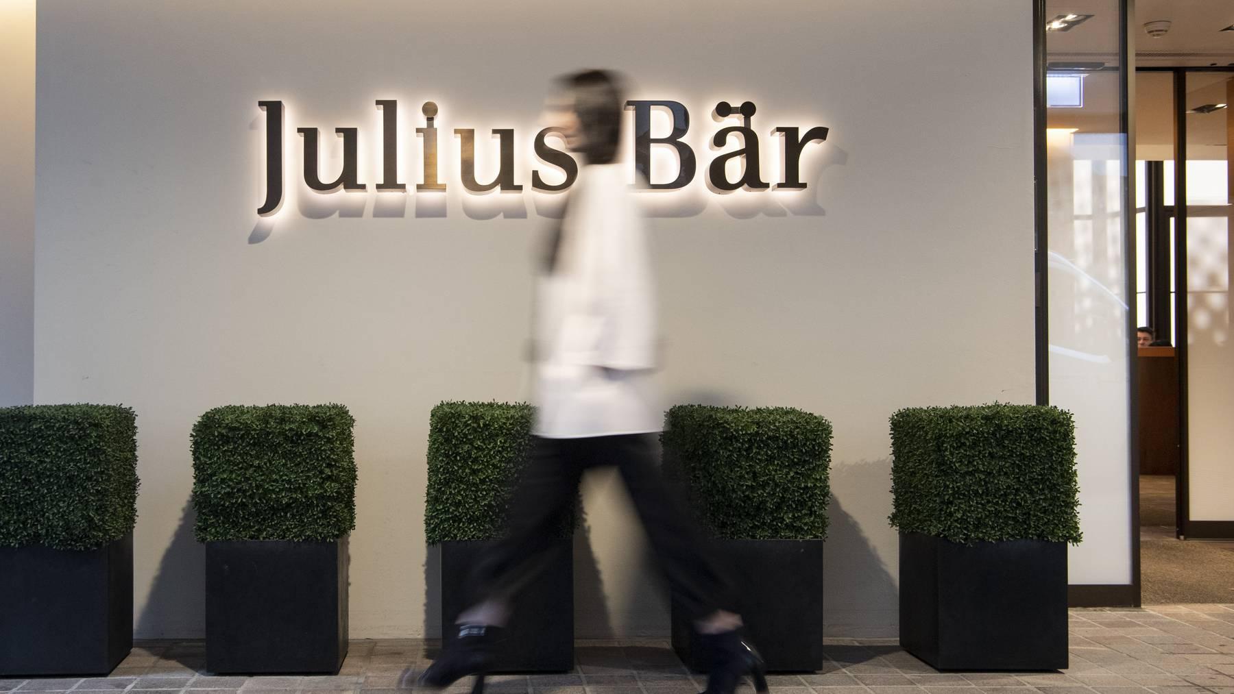 Julius Bär ist gemäss CEO Philipp Rickenbacher gut auf das nächste Halbjahr vorbereitet.