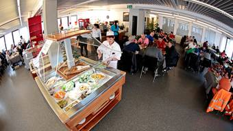 «Volles Haus» im Restaurant «ProbierMahl» der Regiomech Felix Gerber