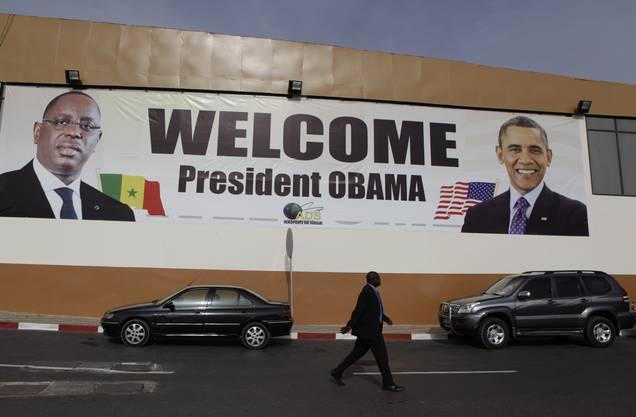 Senegal ist stolz auf den Besuch des mächtigsten Mannes der Welt