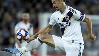 Immer noch spektakulär, aber nur der zweitbeste Spieler der letzten MLS-Saison: Zlatan Ibrahimovic