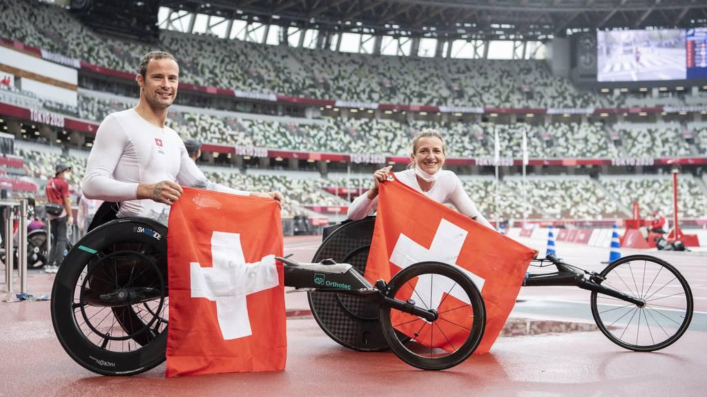 6 Edelmetalle waren das Ziel, 14 gab es: So schön waren die Paralympics