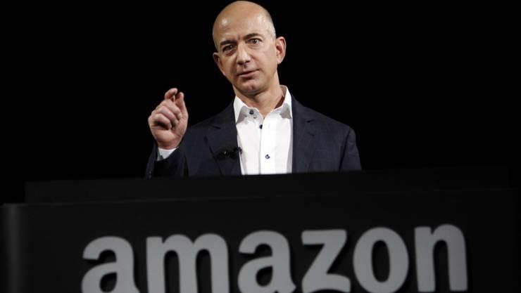 In der Kritik: Amazon-Gründer Jeff Bezos. (Archiv)