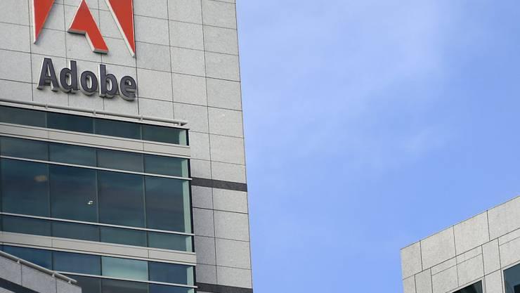 Der US-Softwarekonzern Adobe kauft einen Spezialisten für Cloud-Marketing für knapp 5 Milliarden US-Dollar. (Archivbild)