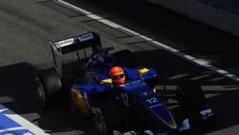 Licht und Schatten: Der Testauftritt von Sauber-Fahrer Felipe Nasr