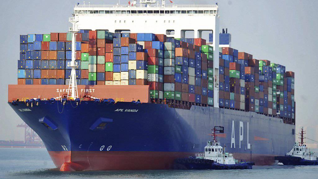 US-Präsident Donald Trump hat im Handelskrieg mit China eine Erhöhung von Einfuhrzöllen von bisher 10 auf 25 Prozent angekündigt. (Symbolbild)