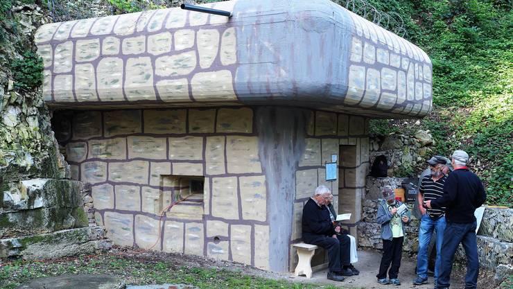 Die Bunker haben Tausende Besucher ins Villigerfeld nach Rüfenach gelockt.Die Artillerie-Beobachtungsanlage «Steinbruch» stand erstmals offen.