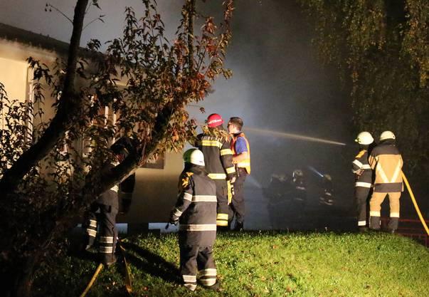 Die Feuerwehr hatte die Lage unter Kontrolle.