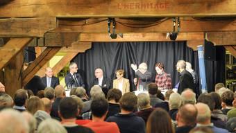 In der Kantonsbibliothek in Liestal hörten unzählige Wählerinnen und Wähler gebannt den Voten der acht Regierungskandidaten zu.
