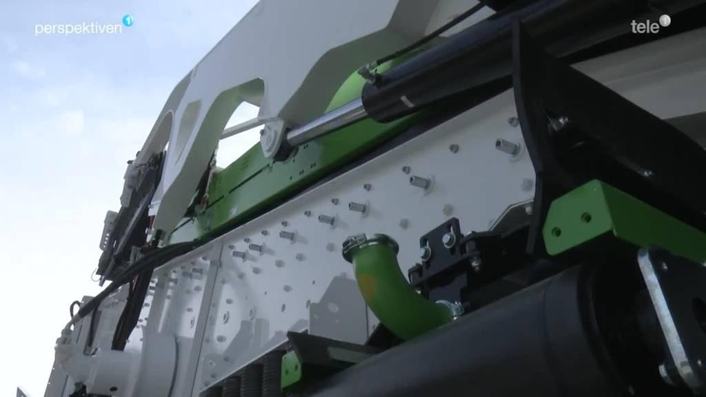GIPO: In Seedorf entstehen die grössten Baumaschinen der Welt
