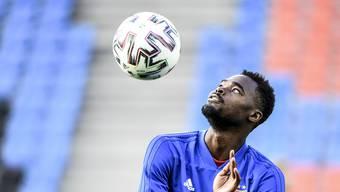 Sein Vertrag in Basel läuft noch bis 2022, Gespräche mit Sportchef Zbinden habe Dimitri Oberlin noch keine geführt.
