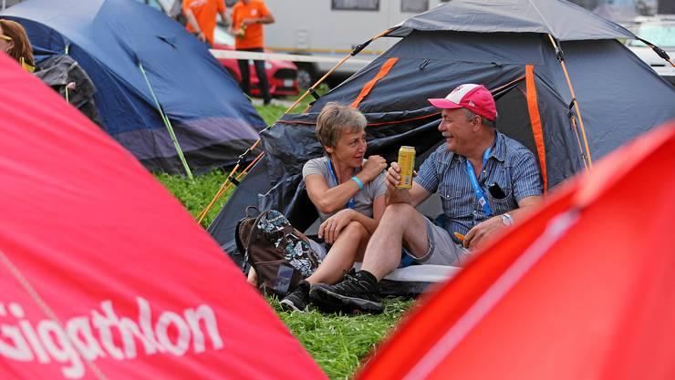 Tourismus Aarau ist auf der Suche nach Campingplätzen, die länger funktionieren als ein, zwei Wochenenden. (Archivbild)