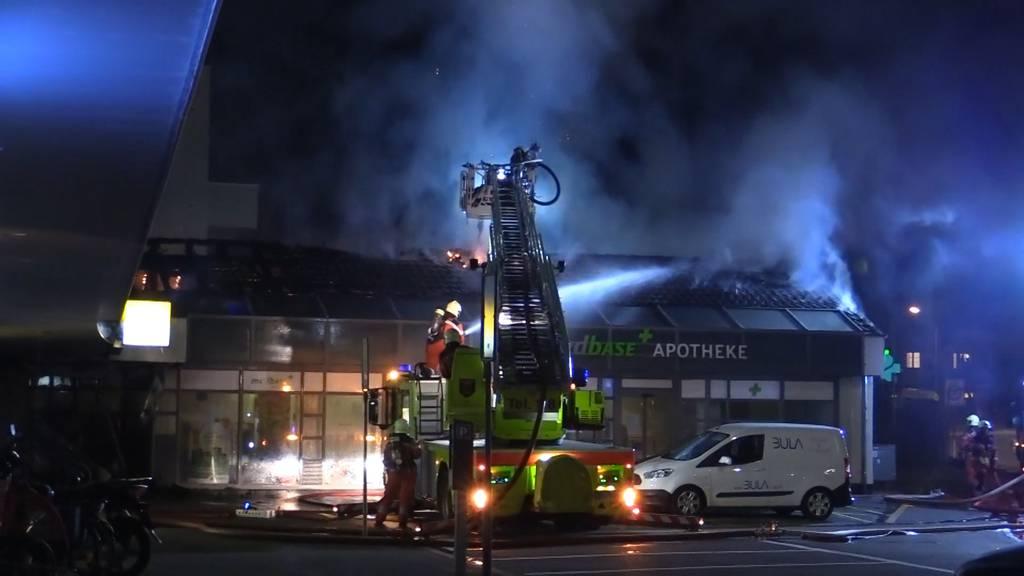 Brandstiftung bei Apotheke in Oberwinterthur
