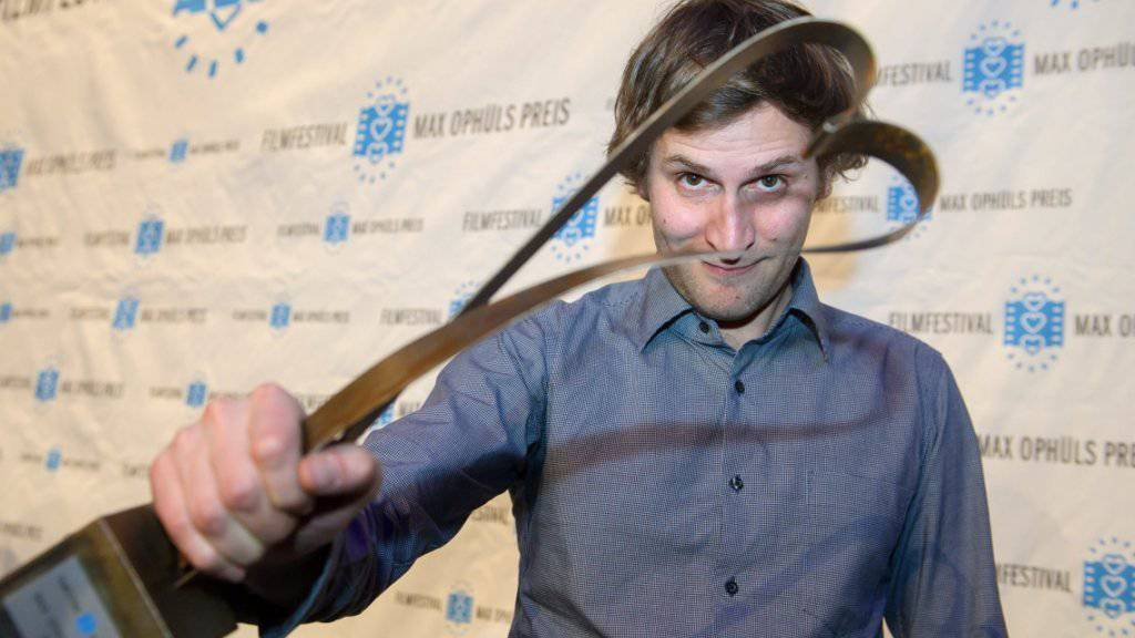 """Der Schweizer Regisseur Simon Jaquement gewann im Januar 2015 für """"Chrieg"""" den Max Ophüls-Preis in Saarbrücken (Bild). Nun ehren ihn die Schweizer Filmkritiker."""