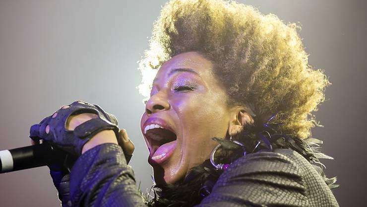 """Sorgte für den Schlusspunkt am """"Jazznojazz""""-Festival in Züirch: US-Soul-Diva Macy Gray. (Archivbild)"""