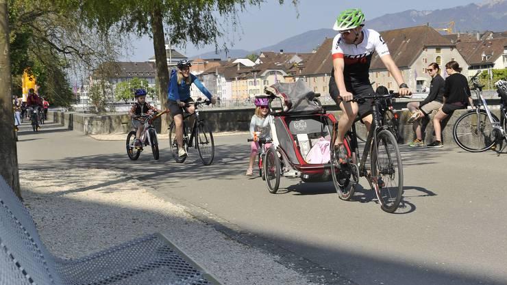 Impressionen vom slowUp Solothurn-Buechibärg 2016