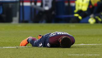 Neymar nach seiner Verletzung