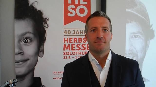 Ok-Präsident Urs Unterlerchner: «75 Prozent der HESO-Aussteller kommen aus der Region.»